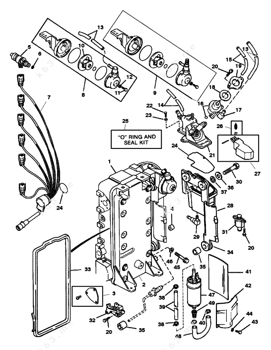 Wiring Diagram For Yamaha Fuel Management System