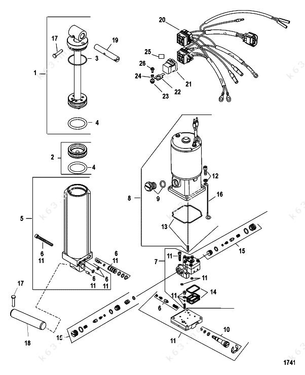 mercury  mariner 40 efi 3 cyl  4-stroke  power trim