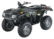 2003 Arctic Cat ATVs from 250cc to 500cc Service Manual