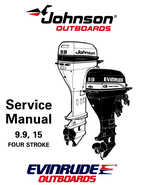1995 Johnson/Evinrude Outboards 9.9, 15 four-stroke Service Manual