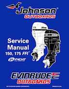 "1998 Johnson Evinrude ""EC"" 150, 175 FFI Service Manual, P/N 520211"