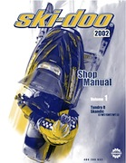 2002 Ski-Doo Shop Manual - Volume One